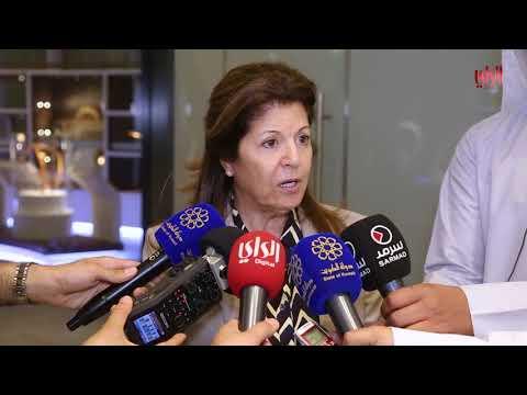 المؤتمر الصحفي لإفتتاح مركز الشيخ عبدالله السالم الثقافي