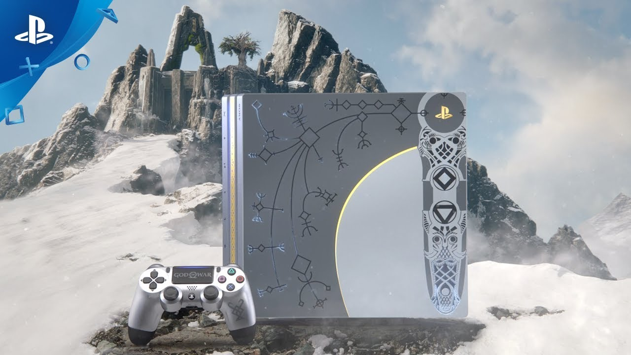 Introducing the Limited Edition God of War PS4 Pro Bundle