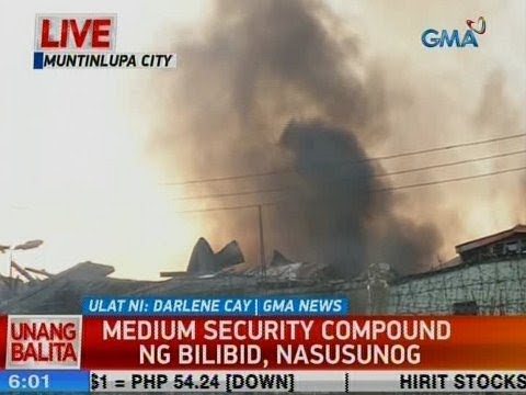 [GMA]  UB: Medium Security Compound ng Bilibid, nasusunog