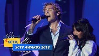 PERTAMA KALI! Christopher Feat Hanin Dhiya Menyanyikan Lagu Heartbeat | SCTV Awards 2018