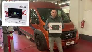 Einbau Navigation Fiat Ducato Peugeot Boxer Citroën Jumper Montage Video Radio