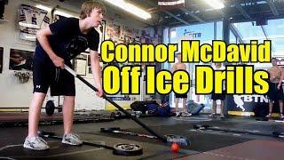 How Connor McDavid Trains – Stickhandling Drills