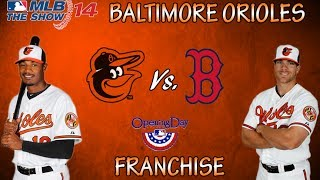 Baltimore Orioles Franchise Ep. 1 Opening Day!! (MLB 14 The Show)