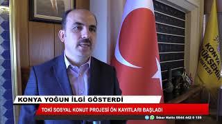 Konya'da sosyal konutlar için ön başvurular başladı!