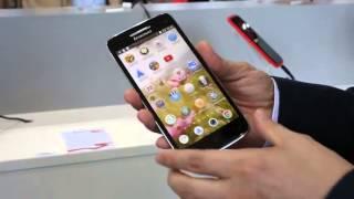 IFA 2013  Lenovo Vibe X hands on