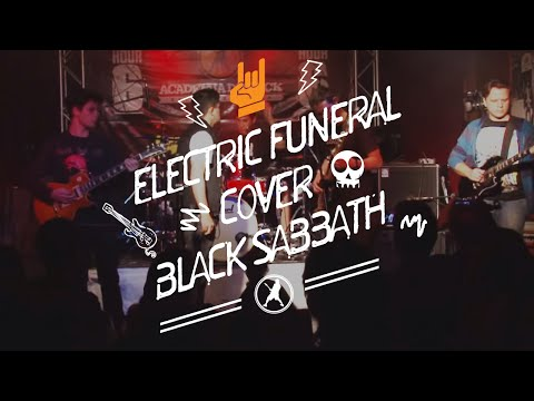 Black Sabbath - Eletric Funeral (Cover) Rock Hour 6