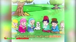 Lagu Anak Indonesia  Rukun Islam Bersama Diva  Kastari Animation Official
