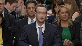 Facebook CEO Mark Zuckerberg Testimony On Data Privacy Before Senate Committee | ABC News