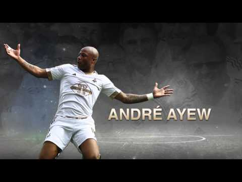 Ayew nominated for Swansea gong