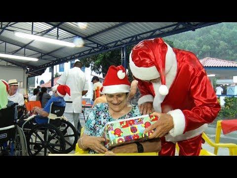 Natal no Laje! Distribuição de presentes para idosos que moram em abrigo de Friburgo emociona