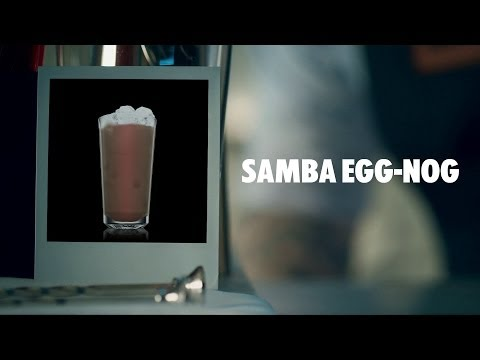Video SAMBA EGG-NOG DRINK RECIPE - HOW TO MIX