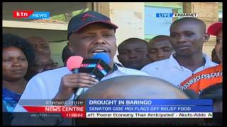Gideon Moi urges for stabilisation of drought as he flags off relief food project