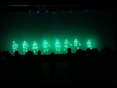 [Lễ ra mắt TOPAL 7/12/2017] Nhảy đèn LED mở màn