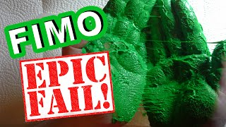 FIMO EPIC FAIL- ~Polymer Clay~ -