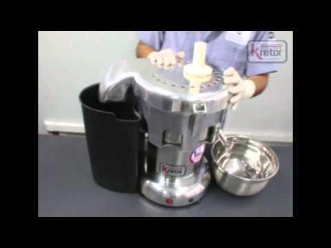 Extractor de frutas y verduras Marca Kretor - Brimali Industrial