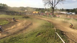 preview picture of video 'Superfinale Makita VBA #442 motocross avesnes sur helpe 18 mai 2014 MX Belgian'
