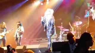 "DORO PESCH. ""Metal Goddess""  Rainbow in the Dark  @ Vegas Rocks Hair Metal Awards 2016"