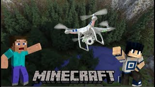 Minecraft FPV-! – Flying a DRONE in Minecraft!