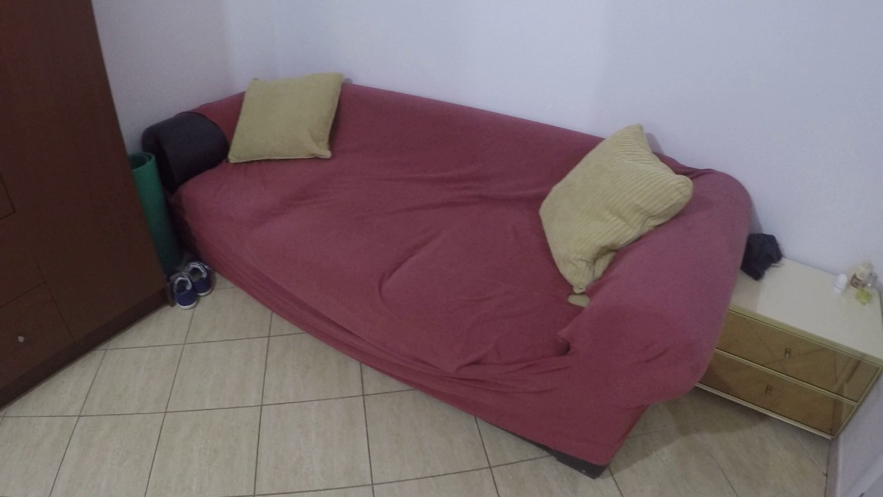 Single Bed in Rooms for rent in cozy 2-bedroom apartment in Appio Latino