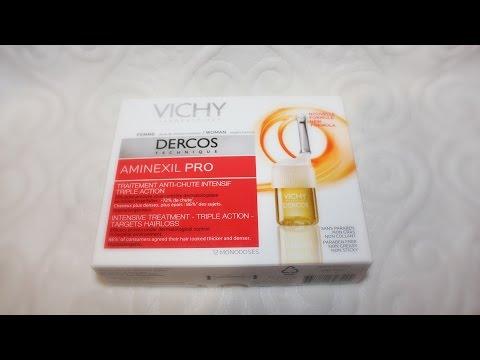 Борюсь с выпадением волос | Vichy Aminexil Pro