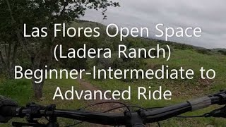 Trails in the Las Flores Open Space ( Near Waterworks )