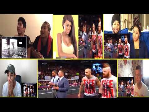 THE SHIELD REUNIT RAW OCT. 9, 2017 #REACTION MASHUP VIDEO   WWE 🐌🐌🐌