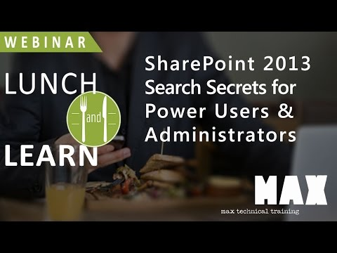 SharePoint 2013 Search Secrets for Power Users and Administrators