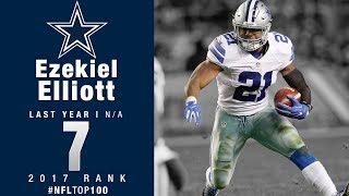 #7: Ezekiel Elliott (RB, Cowboys) | Top 100 Players of 2017 | NFL