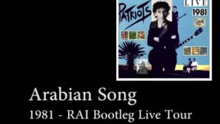 Arabian Song  [RAI Bootleg Patriots Tour 1981] - Franco Battiato