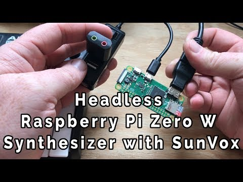 Raspberry Pi 3 B+ and Pi Zero WH and PHAT DAC - смотреть