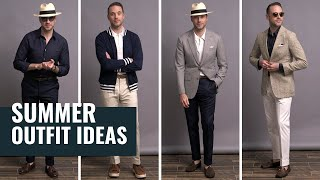 5 Smart Casual Summer Outfit Ideas | Men's Summer Fashion Lookbook