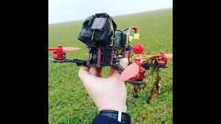 FPV first flight in ACRO mode