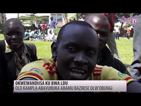 Abavubuka beyiiye ku kisaawe kya Old Kampala okwewandiisa okuyingira obwa LDU