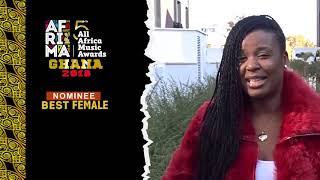 #5thAFRIMA-Voting  Support Charlotte Dipanda - Iconic Cameroonian Artiste for #5thAFRIMAGhana 2018