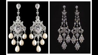 Fancy Chandelier Earrings Collection With Price