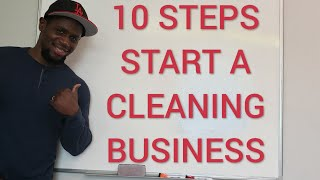 "How To Start A Cleaning Business | ""I made over $20,000 per month!"""