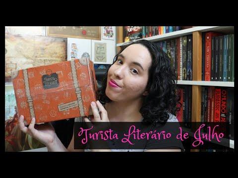 Unboxing Turista Literário de Julho (2021) | VEDA 20 | Raíssa Baldoni