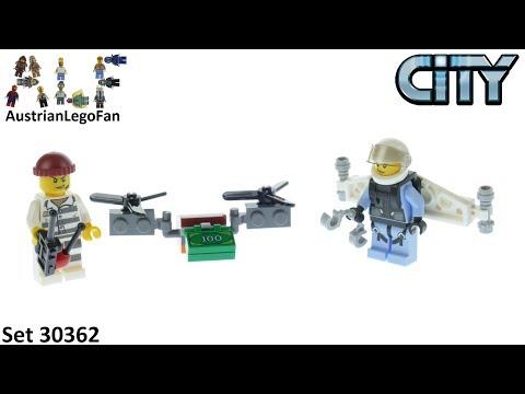 Vidéo LEGO City 30362 : Sky Police Jetpack (Polybag)