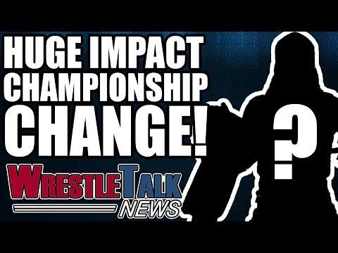 TNA Footage Being Used In WWE?! HUGE Title Change On IMPACT! | WrestleTalk News Apr. 2018