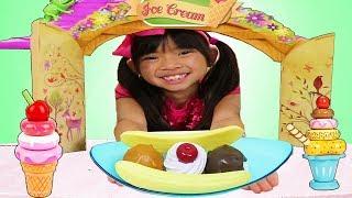 Ice Cream Song   + More Nursery Rhymes Kid Sing A Long Songs w/ Emma Jannie & Wendy