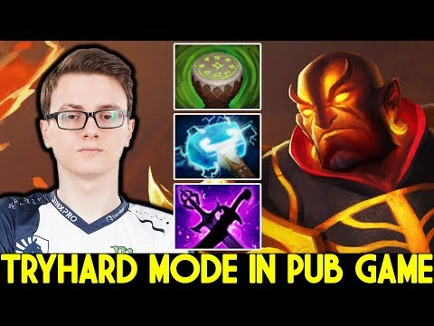 MIRACLE [Ember Spirit] Pro Player Tryhard Mode in Party Game 7.23 Dota 2