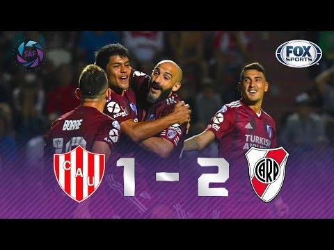 REMONTADA DO LÍDER! Melhores momentos de Unión de Santa Fé 1 x 2 River Plate