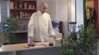 juicing fresh raw marijuana