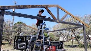 How to Build a Metal Carport - Part 1