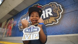 Memorable Moment: Young Dylan's NBA All-Star Game Experience
