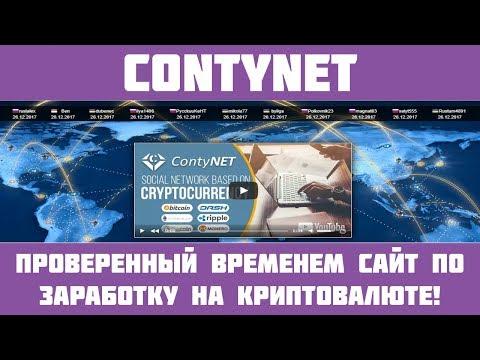 Contynet - Краткий обзор на шикарную криптовалютную соц. сеть!