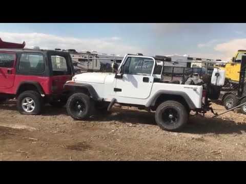 1987-1995 Jeep Wrangler YJ or 1976-1986 CJ-7 Tub / Body Swap Rust Free Clean $199 Shipping
