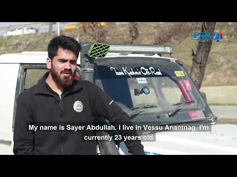 Meet Sayer Abdullah - one-handed adventure sports driver