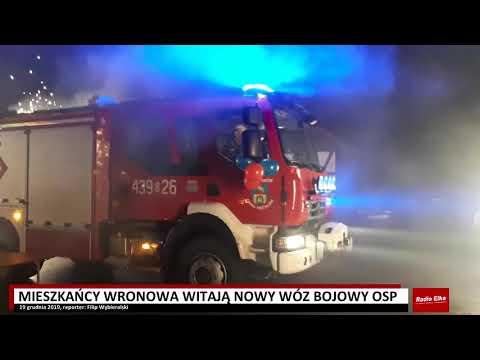 Wideo1: Powitanie nowego wozu bojowego we Wronowie