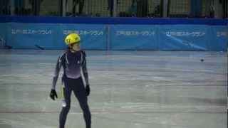 少年男子500m決勝A-第68回国民体育大会冬季大会ショートトラック